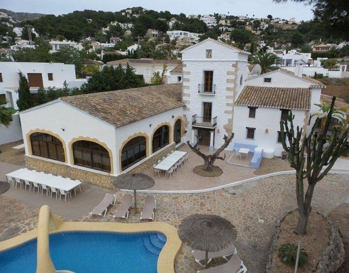 villa en moraira ·  1800000€
